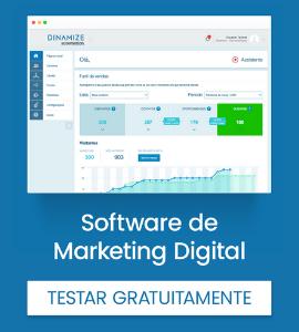 Empresa: Dinamize - Ferramenta de automação de marketing