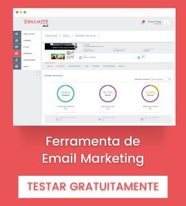 Empresa: Dinamize - Ferramenta de e-mail marketing