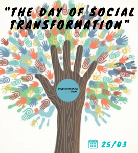 Palestrante: The Day Of Social Transformation, 24/03 - Instituto da Transformação Digital